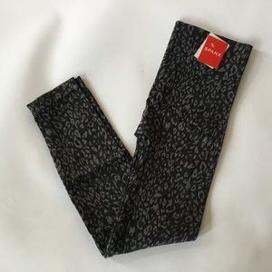Spanx Leopard Print Legging Large Sold Out NWT